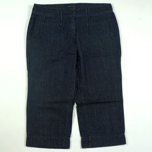 New York & Company Cropped Size 8 Mid Rise Jeans